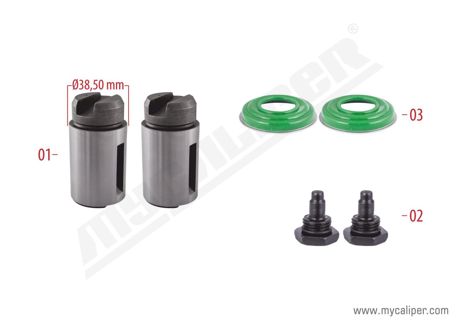 Brake Plunger Kit Right (New Model)