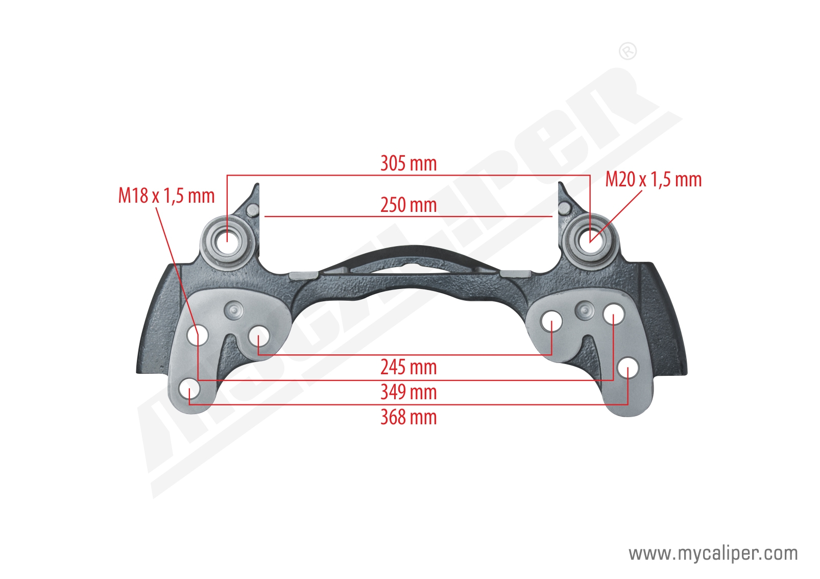 Caliper Carrier For RENAULT 380-400 Trucks