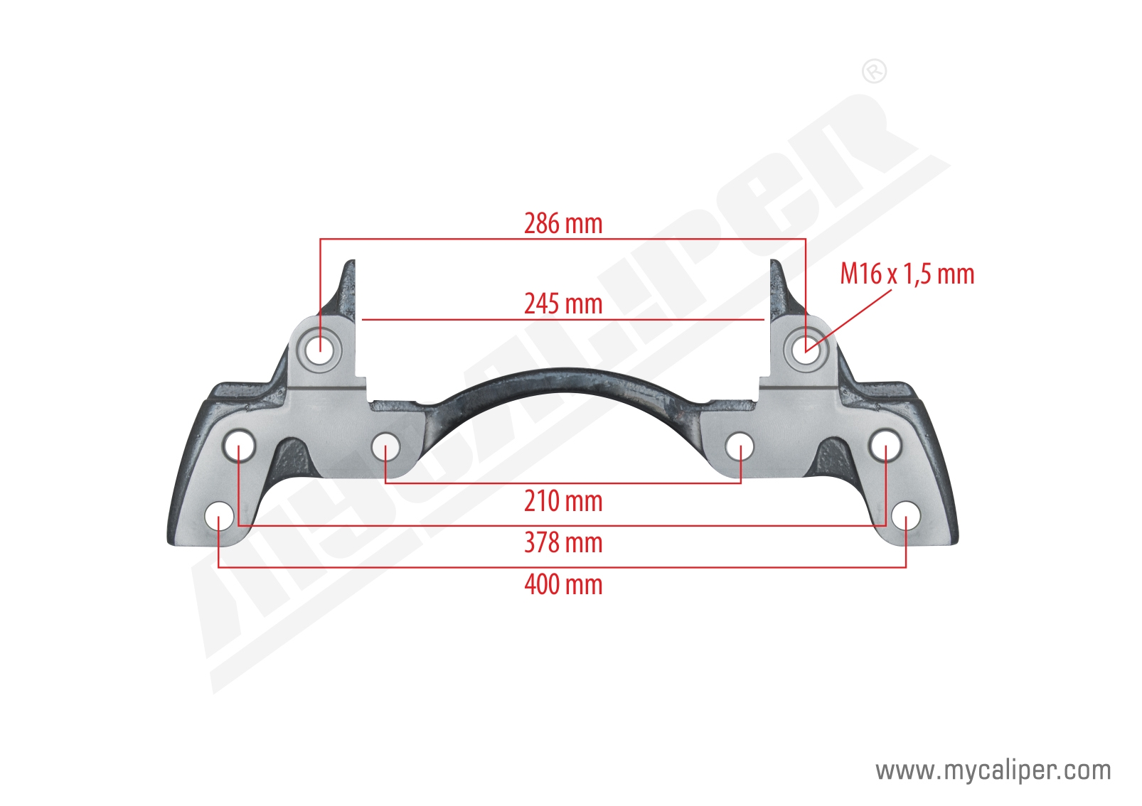 Caliper Carrier MB 4140 - Front (New Model)