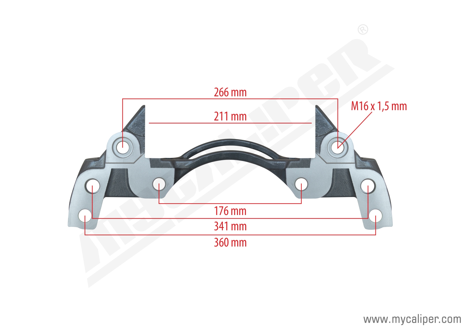 KNORR ATEGO CALIPER CARRIER